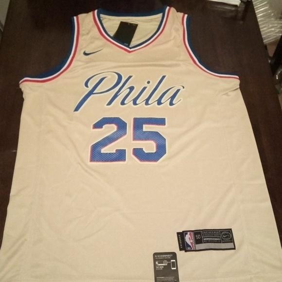 0251fddddca5 Philadelphia Sixers Ben Simmons Jersey